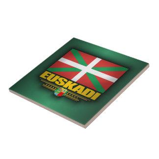 Euskadiの旗 タイル
