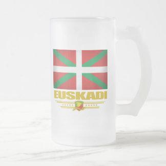 Euskadi (バスクの国) フロストグラスビールジョッキ