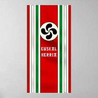Euskal Herriaのプリント ポスター