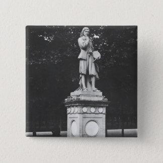 Eustache Le Sueur 1853年ペインター 5.1cm 正方形バッジ