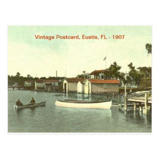 Eustis、フロリダの水辺地帯- 1907年 ポストカード