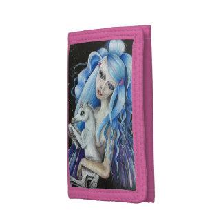 Evangeline及びユリのナイロン財布