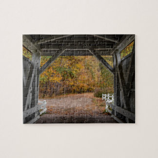 Everattの道の屋根付橋 ジグソーパズル