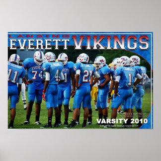 Everettのバイキングポスター ポスター