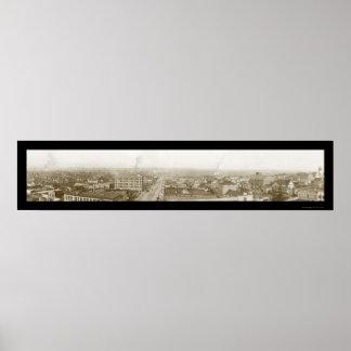 Everettワシントン州の写真1912年 ポスター