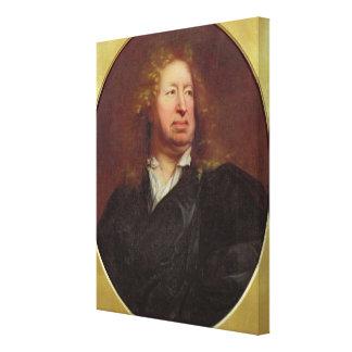 Everhard Jabach 1688年のポートレート キャンバスプリント