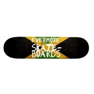 Evermoreジャマイカはスケートボードをします 21.6cm スケートボードデッキ