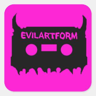 Evilartformのステッカー3x3シート スクエアシール