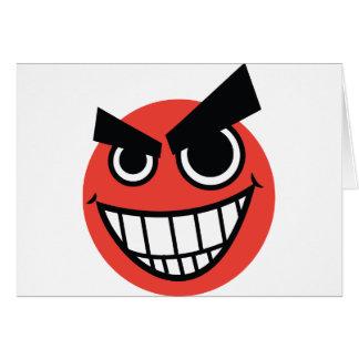 evilface カード