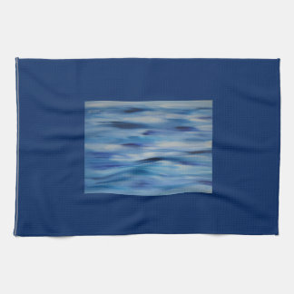 Evitavicの絵画コレクションの青空 キッチンタオル