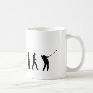 EVO06進化のゴルフ、ゴルファー コーヒーマグカップ