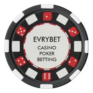 EvryBetのカジノの破片 ポーカーチップ
