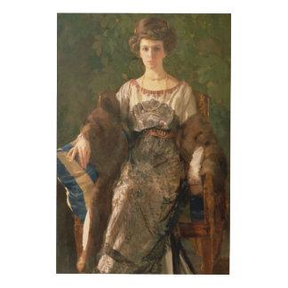 Ewfimia Nosova 1911年のポートレート ウッドウォールアート