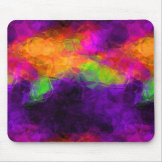 Excoticの紫色の芸術 マウスパッド