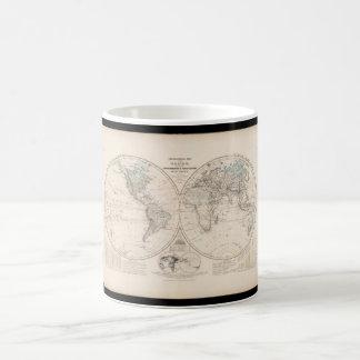Exhaustedsの世界地図18 コーヒーマグカップ