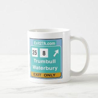 Exit27A 15ozのマグ コーヒーマグカップ