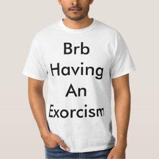 ExorsismのTシャツを持っているBrb Tシャツ