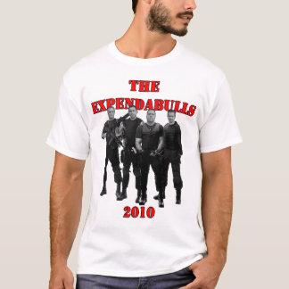 ExpendaBullsの2010年のTシャツ Tシャツ