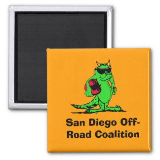 expo_liz、サンディエゴのオフロード連合 マグネット