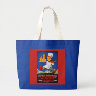 Exposition Boulangerie et Patisserie ラージトートバッグ