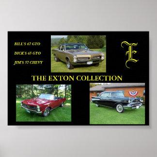 EXTONのコレクション ポスター