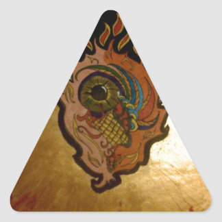 eye.jpg燃え立つこと 三角形シール