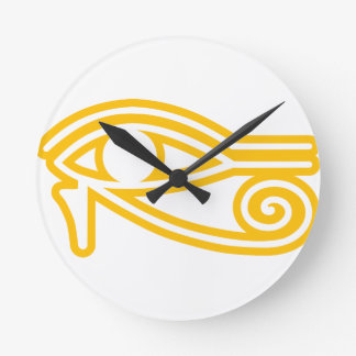 Eye_of_Horus ラウンド壁時計