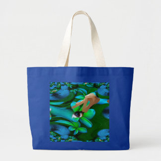 Eye Picked the Flowers Handbag Tote Bag