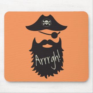 Eyepatch Arrrghを持つおもしろいな海賊! マウスパッド