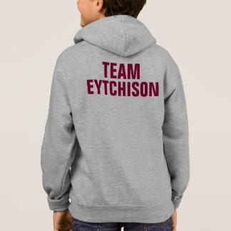 EYTCHISON -名声の《鳥》ハヤブサのフード付きスウェットシャツ スウェットシャツ