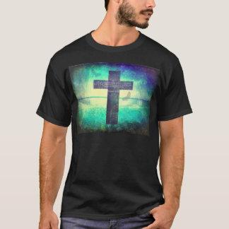 Ezekielの36:26の感動的な聖書の詩 Tシャツ