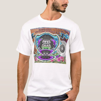 EzekielのUFOのワイシャツ Tシャツ