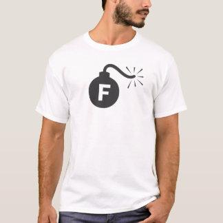 Fの爆弾 Tシャツ
