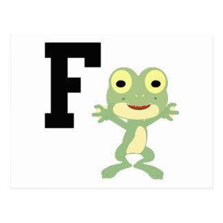 Fは潜水工作員のためです ポストカード