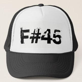 F第45大統領 キャップ