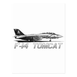F14雄猫VF-103すてきなロジャース-スケッチ ポストカード