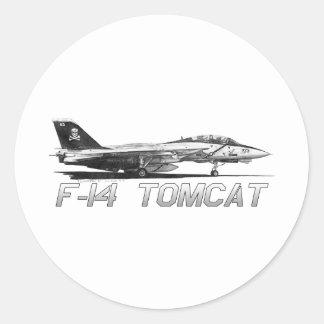 F14雄猫VF-103すてきなロジャース-スケッチ ラウンドシール