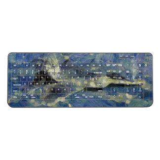 F22キーボードをvangoghize ワイヤレスキーボード