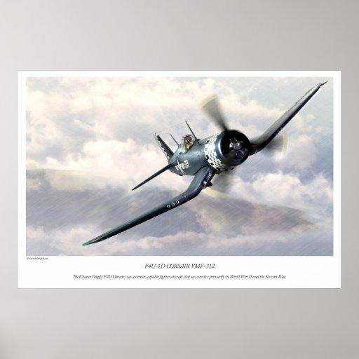 F4U Corsair ポスター
