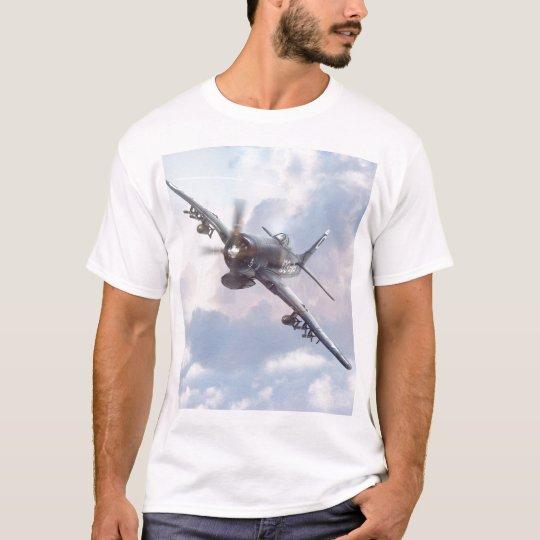F8Fベアキャット&F4Uコルセア Tシャツ