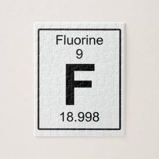 F -フッ素 ジグソーパズル