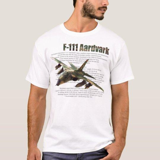 """""""F-111 Aardvark """" T-shirt Tシャツ"""