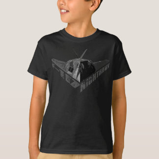 F-117アメリカヨタカ亜科のワイシャツ Tシャツ