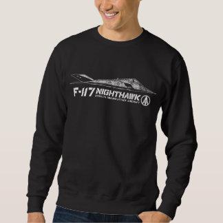F-117アメリカヨタカ亜科の人の基本的なスエットシャツ スウェットシャツ