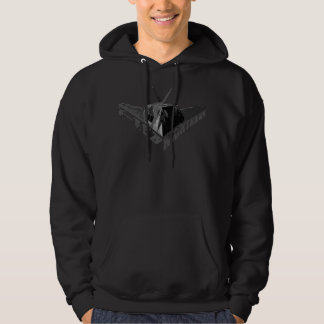 F-117アメリカヨタカ亜科の人の基本的なフード付きのスエットシャツ パーカ