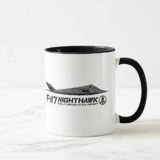F-117アメリカヨタカ亜科の信号器のコーヒー・マグ マグカップ