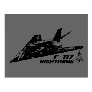 F-117アメリカヨタカ亜科 ポストカード