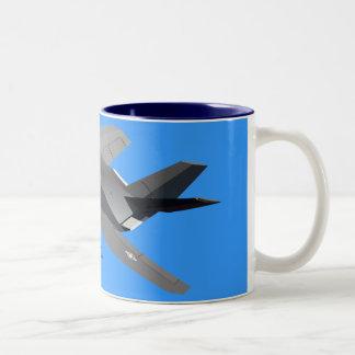 F-117隠しだてのマグ ツートーンマグカップ