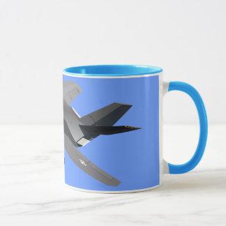 F-117隠しだてのマグ マグカップ