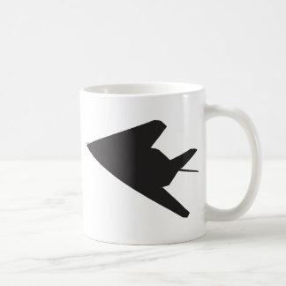 F-117隠しだての戦闘機 コーヒーマグカップ